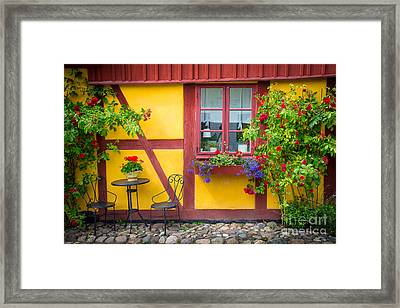 Swedish Summer Framed Print by Inge Johnsson