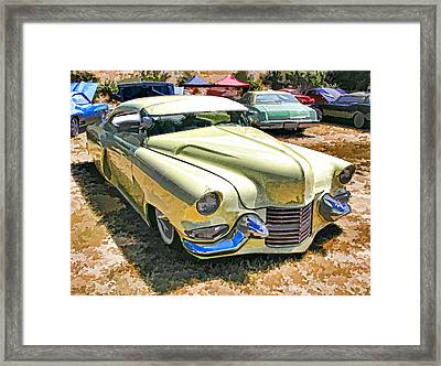 Sweet And Low-rider 3/4 Front View Framed Print by Samuel Sheats