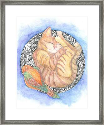 Sweet Dreams Framed Print by Cherie Sexsmith