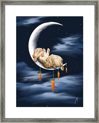 Sweet Dreams Framed Print by Veronica Minozzi