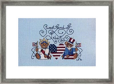 Sweet Liberty Framed Print by Linda Phelps