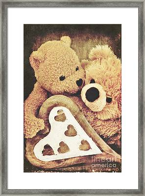 Sweet Love... Framed Print by Angela Doelling AD DESIGN Photo and PhotoArt