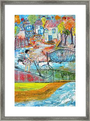 Sweet Memories Framed Print by Evelina Popilian