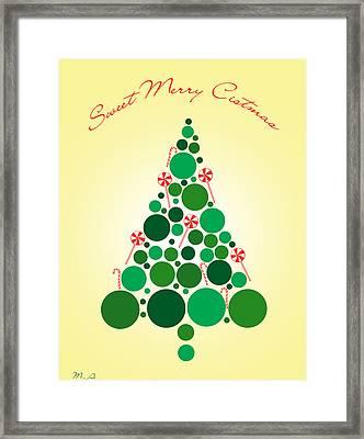 Sweet Merry Christmas Framed Print by Mark Ashkenazi