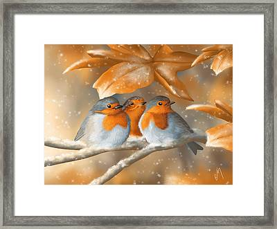 Sweet Nature Framed Print by Veronica Minozzi