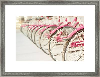 Sweet Rides Framed Print by Amy Tyler