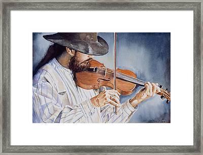 Sweet Serenade Framed Print by Don Dane
