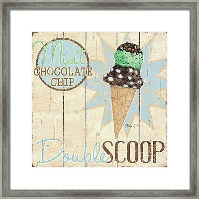 Sweet Treat Signs I Framed Print by Paul Brent