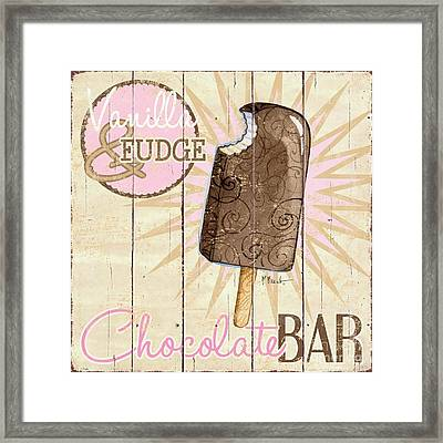 Sweet Treat Signs IIi Framed Print by Paul Brent