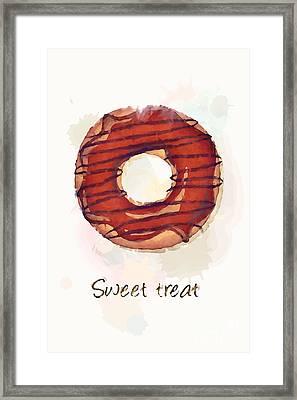 Sweet Treat.jpg Framed Print by Jane Rix
