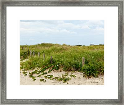 Sweetest Silence By The Sea Framed Print by Michelle Wiarda