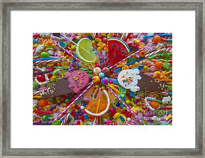 Sweets 1 Framed Print by Aimee Stewart