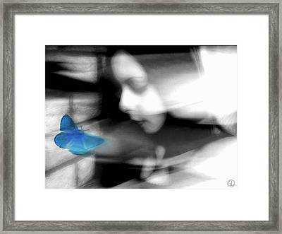 Swept Away By A Dream Framed Print by Gun Legler