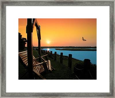 Swing Framed Print by Joseph Tese
