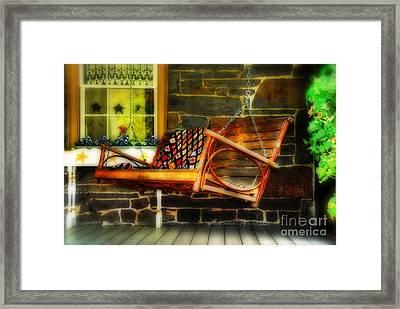 Swing Me Framed Print by Lois Bryan
