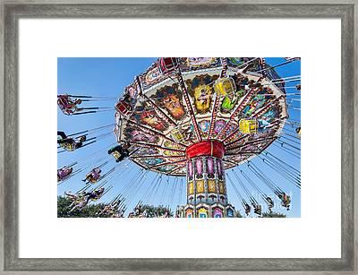 Swingers Framed Print by Eddie Yerkish