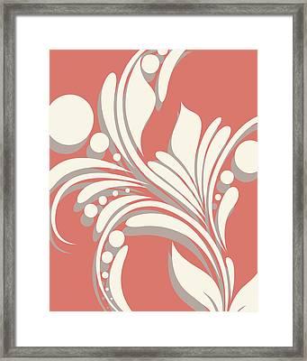 Swirl Framed Print by Tamara Robinson