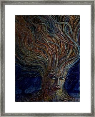 Swirling Beauty Framed Print by Frank Robert Dixon