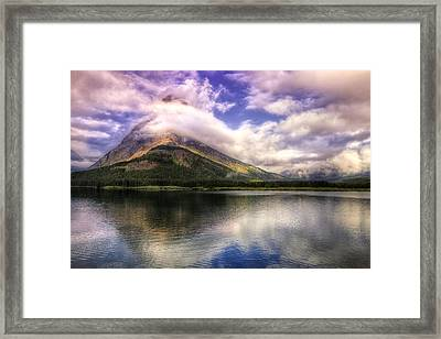 Swirling Clouds Framed Print by Andrew Soundarajan