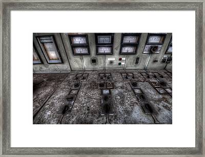 Switched  Framed Print by Nathan Wright