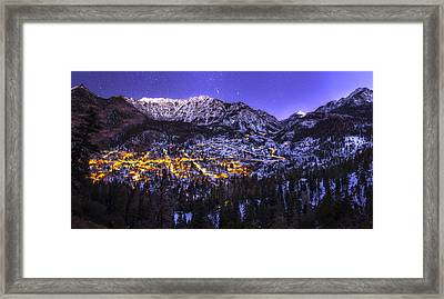 Switzerland Of America Framed Print by Taylor Franta
