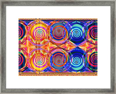 Swizzle Reunion Framed Print by Wendy J St Christopher