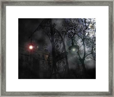Swollowed Framed Print by David Fox
