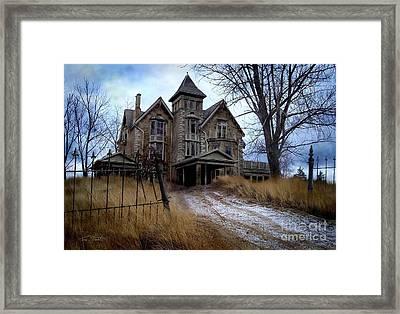 Sydenham Manor Framed Print by Tom Straub