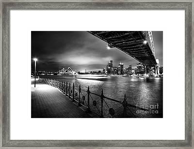 Sydney Harbour Ferries Framed Print by Az Jackson