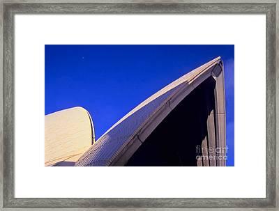 Sydney Opera House 2 Framed Print by Alex Cassels