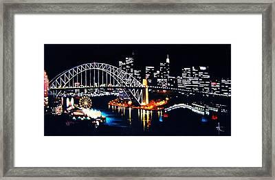 Sydney Framed Print by Thomas Kolendra