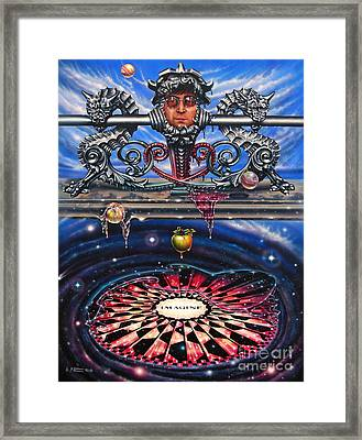 Symbiotic Love Framed Print by Ricardo Chavez-Mendez