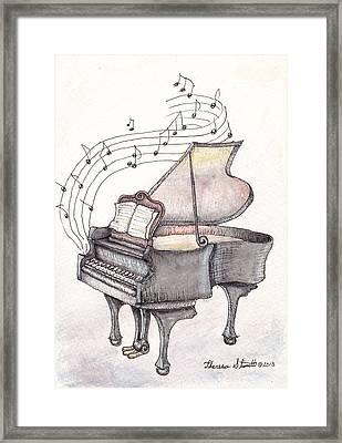 Symphony Framed Print by Theresa Stinnett