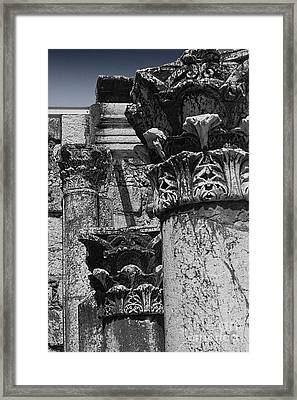 Synagogue Stone Framed Print by Tom Griffithe
