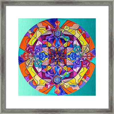 Synchronicity Framed Print by Teal Eye  Print Store