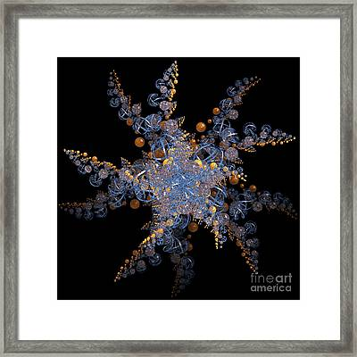 Synchronized  By Jammer Framed Print by First Star Art