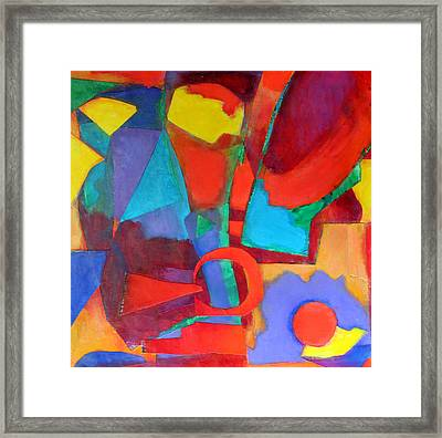 Syncopated Framed Print by Diane Fine