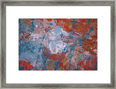 Synergy Framed Print by Shelly Sexton