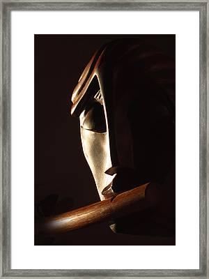 Syrinx A Wood Spirit Framed Print by Windy Dankoff