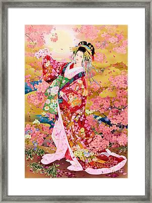 Syungetsu Framed Print by MGL Meiklejohn Graphics Licensing