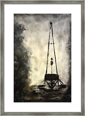T. D. Framed Print by Shawn Marlow