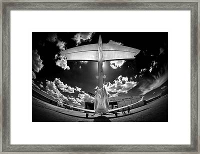 T Wing Framed Print by Paul Job