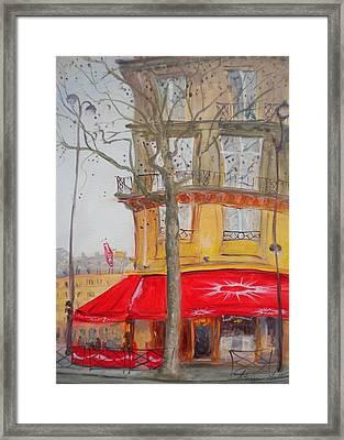 Tabac, 2010 Oil On Canvas Framed Print by Antonia Myatt