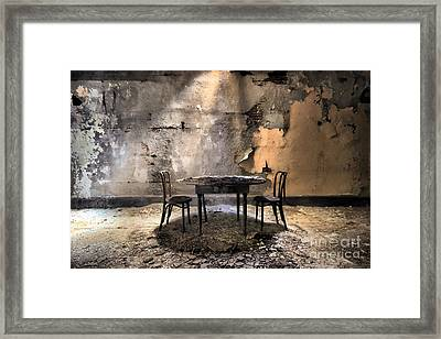 Table 4 Two Framed Print by Rick Kuperberg Sr