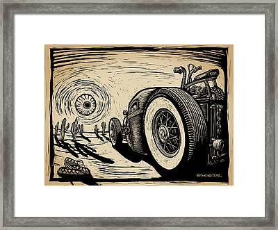 Taco Truck Framed Print by Bomonster