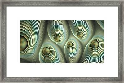 Tactile Perception Framed Print by Anastasiya Malakhova
