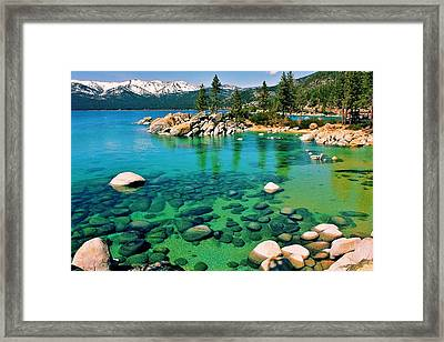 Tahoe Bliss Framed Print by Benjamin Yeager