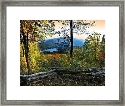 Tail Of The Dragon  Framed Print by Joseph Tese