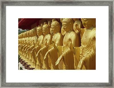 Taiwan, Foukuangshan Temple, Standing Framed Print by Jaynes Gallery