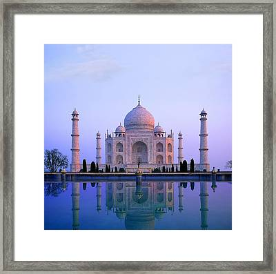 Taj Mahal, India Framed Print by Indian School